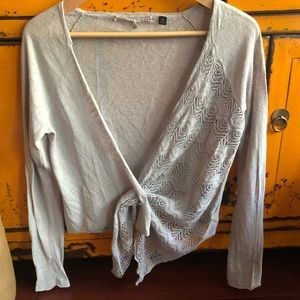 Anthropologie Knitted & Knotted Cardigan